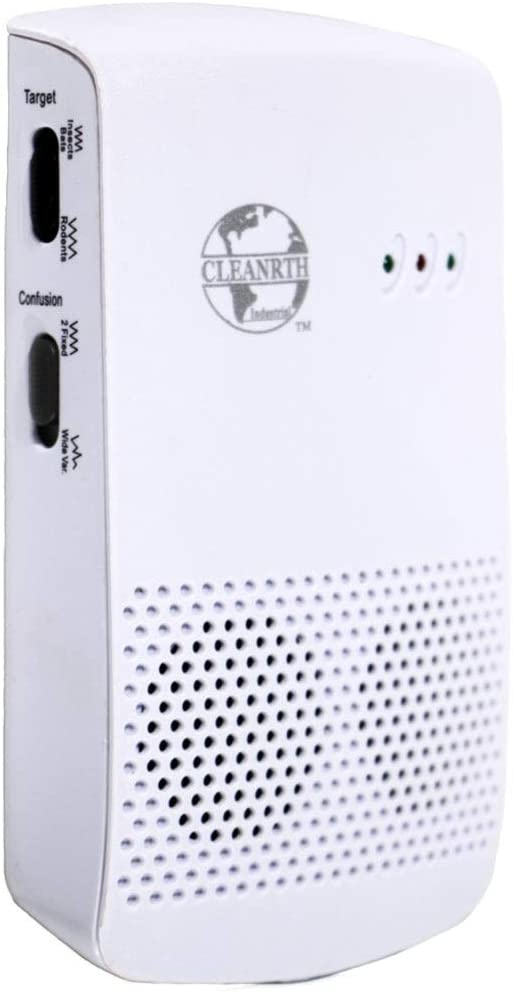 Cleanrth CIN009 Industrial Electronic Pest Repelling System | Demands Insects, Bats, and Rodents to Flee!