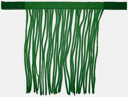 Derby Originals Horse Fly Veils Fringes for Pony, Hunter Green