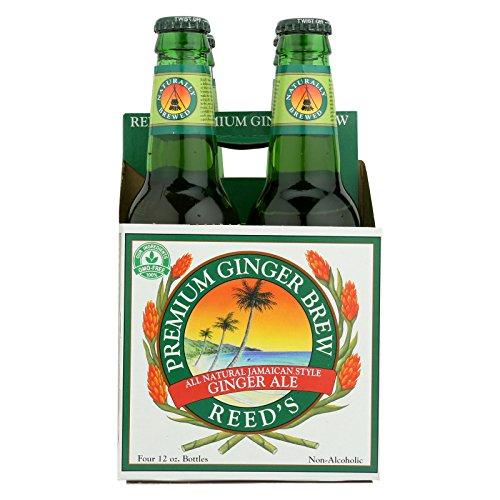 Reed's Ginger Beer Ginger Brew - Premium - Case of 6 - 12 Fl oz. by Reed'S Ginger Beer
