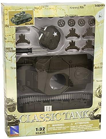 New Ray USA M3 Lee EZ Build Tank Model Kit 1:32 Scale (M3 Lee Tank Model)
