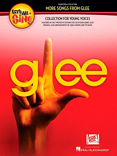 Hal Leonard Let's All Sing More Songs From Glee Collection for Young Voices Performance/Accompaniment CD