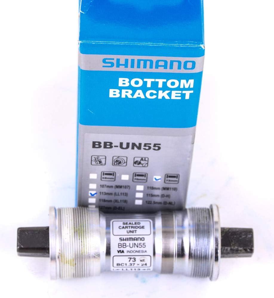 New Shimano BB-UN55 Cartridge Square Taper JIS Bottom Bracket English 68 x 107mm