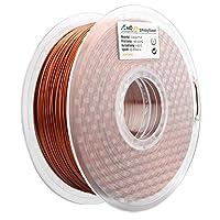 AMOLEN 3D Printer Filament,Frosted Bronze 1.75mm PLA Filament for 3D Printing +/- 0.03 mm from AMOLEN