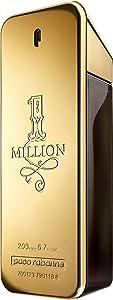 Paco Rabanne 1 Million Eau de Toilette, Uomo, 200 ml