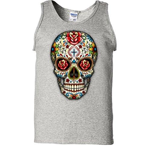 Dia De Los Muertos Sugar Skull Tank Top