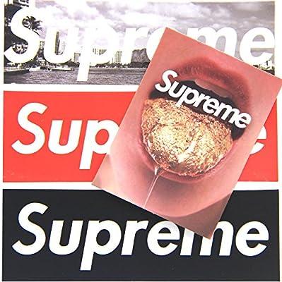 50 Stücke Supreme Aufkleber Wasserdicht Vinyl Aufkleber Für