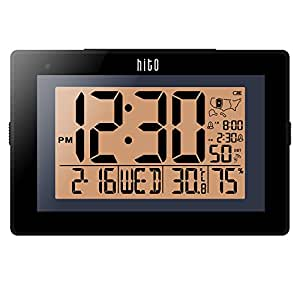 Radio Controlled Kitchen Wall Clock Battery Operated