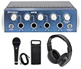 Presonus HP4 4-Ch Speaker Amplifier Monitor System HP-4+Mic+Speaker