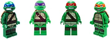Amazon.com: LEGO Teenage Mutant Ninja Turtles Minifigures ...