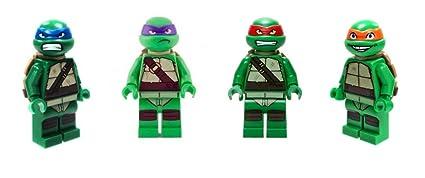 Amazon.com: LEGO Teenage Mutant Ninja Turtles Minifigures ...