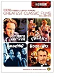 MovieCrib : Buy TCM Greatest Classic Films Collection: Horror (House of Wax 1953 / The Haunting 1963 / Freaks / Dr. Jekyll and Mr. Hyde 1941)