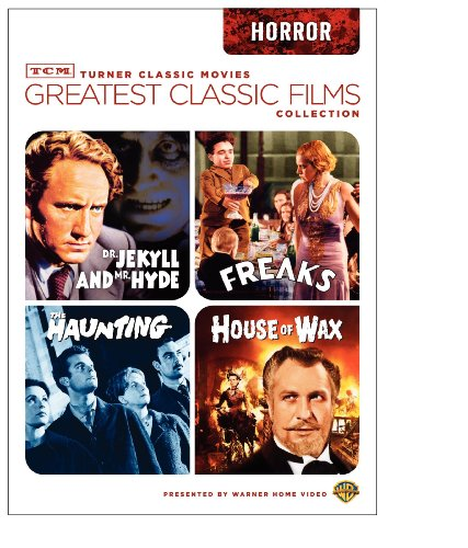 TCM Greatest Classic Films Collection: Horror (House of Wax 1953 / The Haunting 1963 / Freaks / Dr. Jekyll and Mr. Hyde 1941) ()