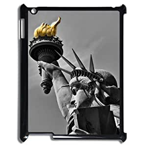 Custom Cover Case with Hard Shell Protection for Ipad2,3,4 case with The statue of Liberty lxa#261296 by icecream design