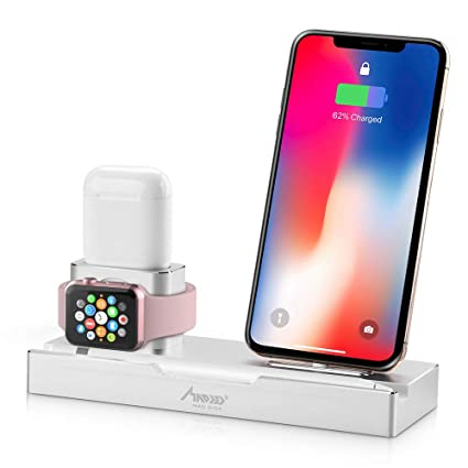 official photos eeea3 ba32b Charging Station Dock Holder, MAD GIGA 5 in 1 Phone Charging Stand ...