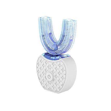 Y&XX Cepillo De Dientes Eléctrico Súper Suave para Adultos, Perezoso, USB Inteligente, Carga