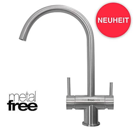 Neues Wasser Group Arles - Grifo de 3 vías (Acero Inoxidable ...