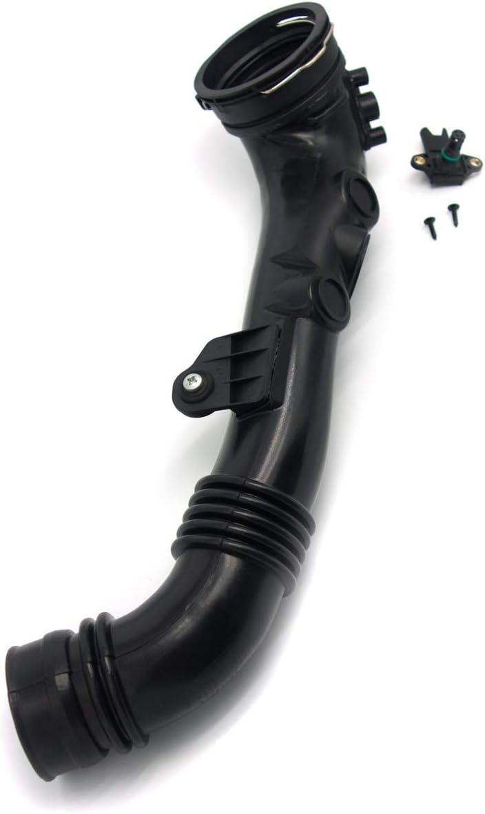 koxuyim #13717615026 Intake Intercooler Hose to Throttle Housing,Fit for BMW E82 135i 335i E90 E92 E93