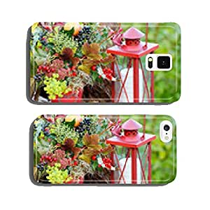 Autumn decoration on the terrace cell phone cover case Samsung S5