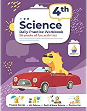4th Grade Science: Daily Practice Workbook   20 Weeks of Fun Activities (Physical, Life, Earth and Space Science, Engineering   Video Explanations Included   200+ Pages Workbook)