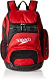 Speedo Large Teamster Backpack, Red/Black, 35-Liter