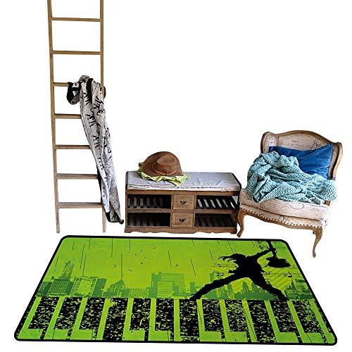Popstar Party, Room Home Bedroom Carpet Floor Mat,
