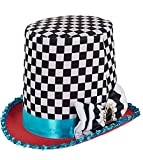 Mad Hatter Costume Hat World Book Day Fancy Dress Accessories Girls Boys Alice