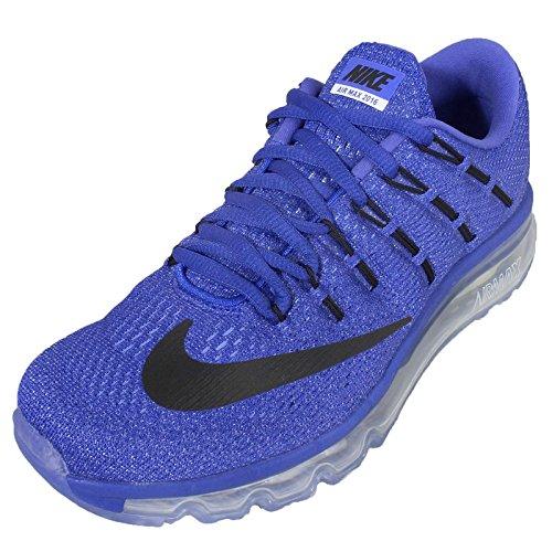 Nike Mujeres Wmns Air Max 2016, Racer Blue / Black-chalk Blue-blue Tnt, 8.5 Us Azul