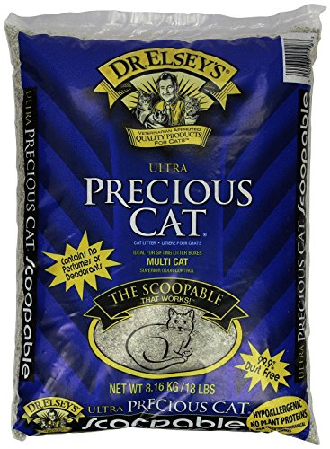 Pack Precious Cat Ultra Premium Clumping Cat Litter Pound Bag