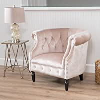Christopher Knight Home 300887 Akira-CKH Arm Chair, Champagne