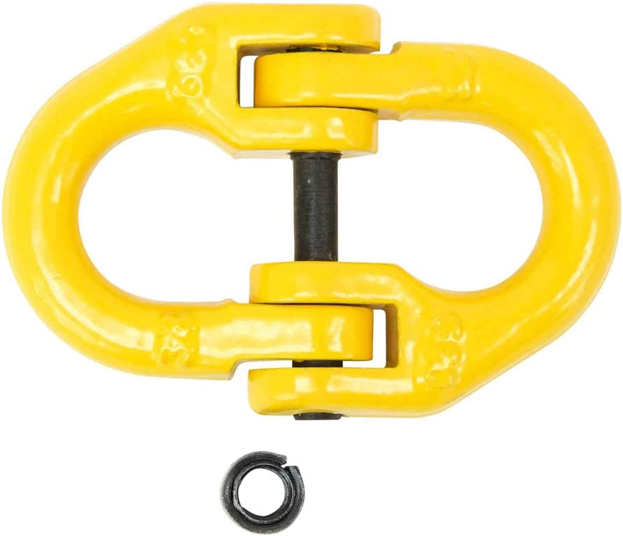 10 Pack Yellow Mytee Products 1 x 6 Length One Way Sling 1 Ton Working Load Limit