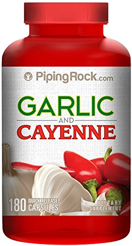 Garlic & Cayenne 180 Capsules