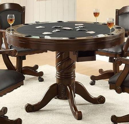Amazon.com - Coaster Table Top Box 1 Of 2-Medium Oak - Tables