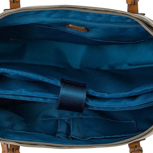 Bric's tout Travel cm Grau Laptop 39 Taupe Sac Fourre compartiment X w46rwqAU