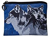 Wolves Change Purse, Wolf Coin Purse - From My Original Painting, Spirited Pack