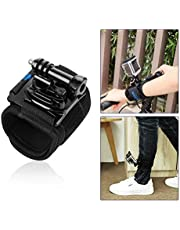 For GoPro Wrist Strap Mount, 360-degree Rotary Gopro Wrist Mount for GoPro Hero 7 6 5 4 Black White Silver Hand Band Mount Secure on Wrist or Arm with Thumb Screw for GoPro Accessories