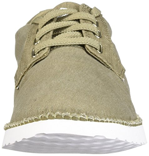 Sperry Top-sider Mens Camden Canvas Oxford Taupe