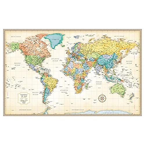 World Map: Amazon.com
