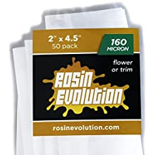 "Rosin Evolution Bags - 160 micron (2"" x 4.5"") - 50 pack"
