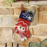 New England Patriots Mascot Fiber Optic Stocking