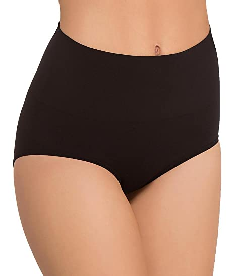 1540903aa Image Unavailable. Image not available for. Color  Julie France Womens Leger  Ultra Firm Control Mid Waist Panty Shaper ...