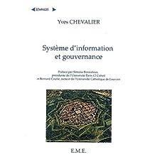 Systeme d'information et gouvernance