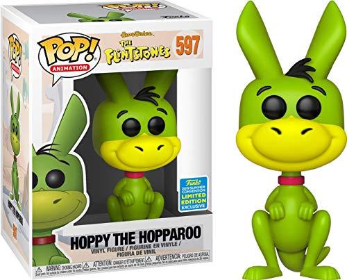 Funko Pop! Animation: Hoppy The Hopparoo Flintstones Summer Convention 2019 Exclusive (Funko Pop Barney Rubble)