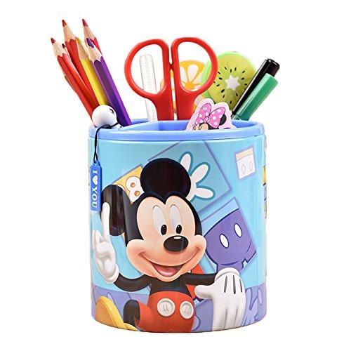 - YOURNELO Cute Disney Mickey Mouse Iron Pen Pencil Holder Desk Organizer Accessories (Mickey)