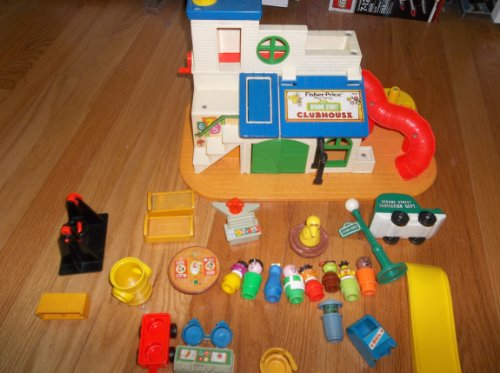 Fisher Price Sesame Street Clubhouse (Sesame Street Clubhouse)
