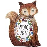 Beautiful Resin Animal Mini Photo Frames Window Living Room Nursery Picture Display Frame. 2 x 2.5'' (Fox)