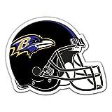 NFL Baltimore Ravens Team Magnet, Large, Purple