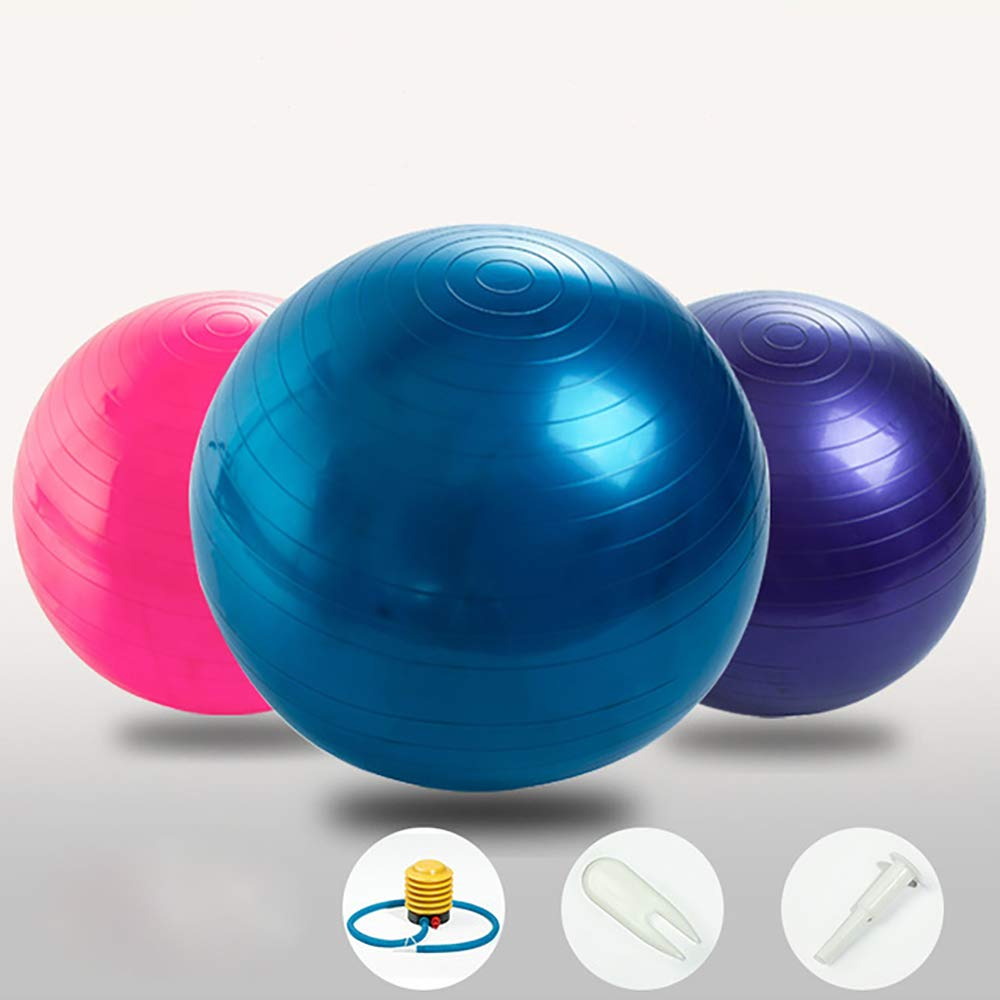 Exercise Ball Extra Thick Yoga Ball Chair Heavy Duty Stability Xmas gift 68-75cm