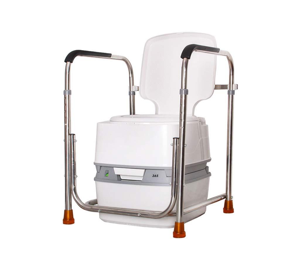 【最安値挑戦!】 トイレ手すりステンレススチールモバイル老人滑り止め安全ハンドルガードレール(トイレのすべてのモデルに適しています)   B07K6GT1BW, デグナー通販(レザージャケット):ca4db021 --- arianechie.dominiotemporario.com