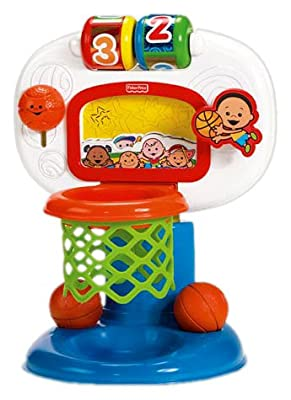 M1800 Fisher-Price Brilliant Basics Dunk 'n Cheer Basketball
