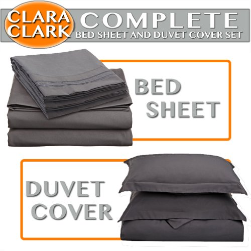 clara-clark-complete-5-piece-bed-sheet-and-duvet-cover-set-twin-size-charcoal-gray